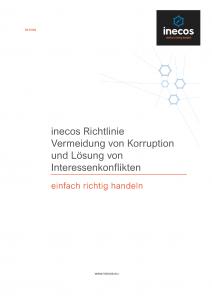 inecos Richtlinie Anti-Korruption & Interessenkonflikte